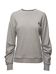 Teresa sweat - GREY MELANGE