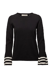 New Domino bell knit - BLACK