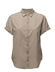 Sandie SS Shirt - DUSTY SAND