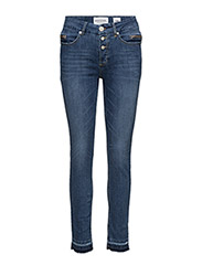 Nadja cropped wash Colombo - DENIM BLUE 6
