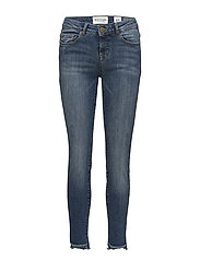 Diva cropped wash Luanda - DENIM BLUE