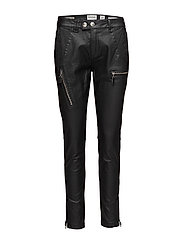 New Jo biker real black coated - BLACK