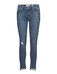 Paulina ankle supporting wash San D - DENIM BLUE
