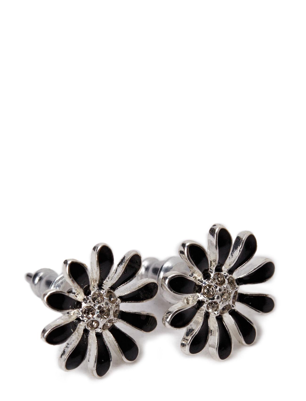 Pilgrim Earring Classic Pilgrim Smykker til Kvinder i Sort