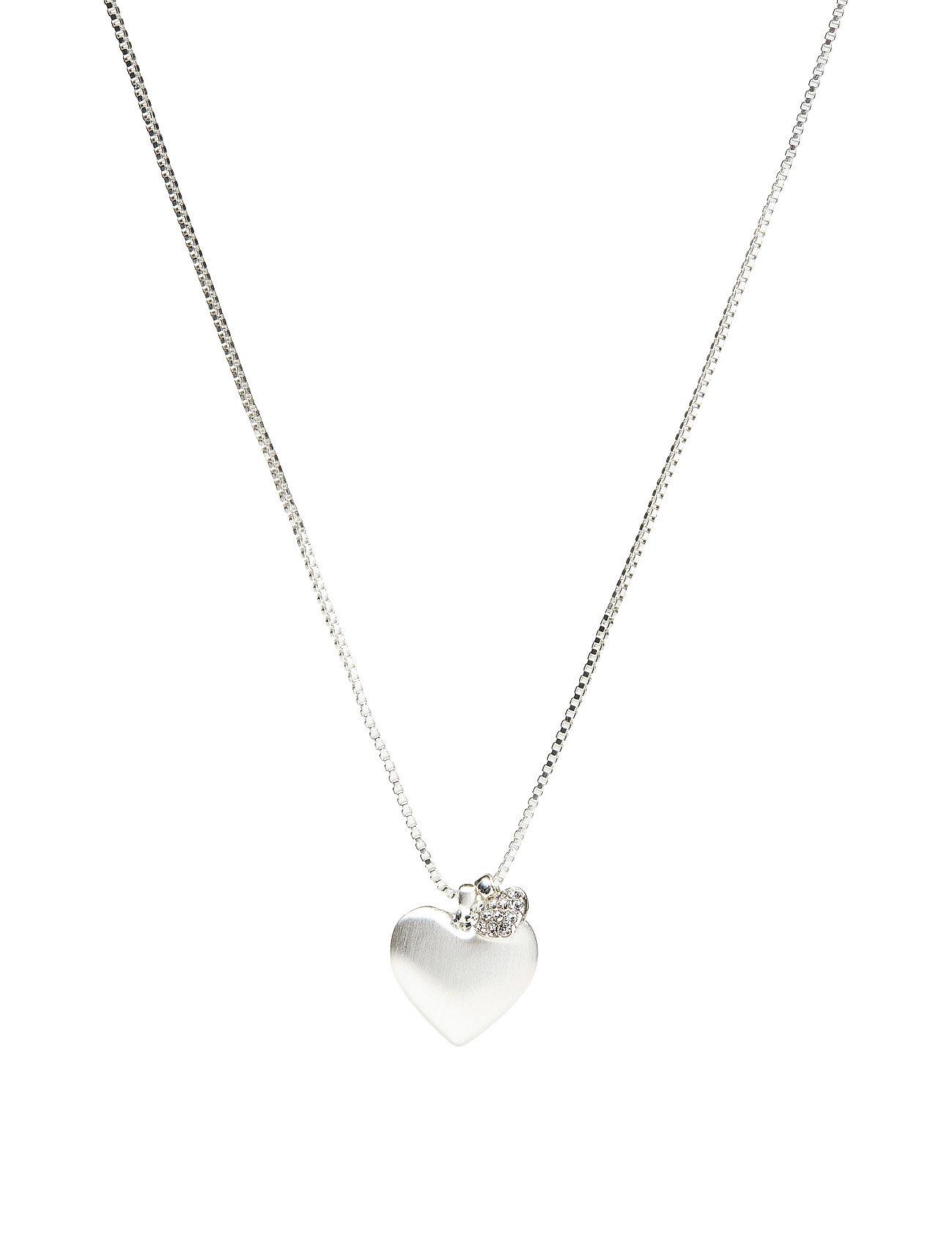 X-Mas Set No. 1, Silver Plated, Crystal Pilgrim Accessories til Kvinder i