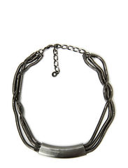 Necklaces - hematite plated