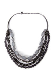 Pilgrim Necklace Jollification - grey mix