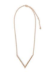 Pilgrim Necklace Lattice - Gold