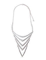 Pilgrim Necklace Lattice - Silver