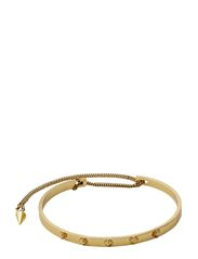 PILGRIM Tiny Rivet bracelet - gold