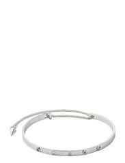 PILGRIM Tiny Rivet bracelet - silver