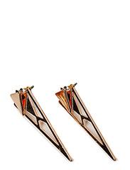 Pilgrim Earrings Rose gold Airiness - ROSE GOLD