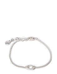 Pilgrim Bracelet Cubes - Silver