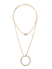 Pilgrim Necklace Shapes - Gold
