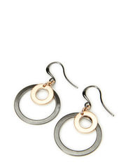 Earrings - hematite plated