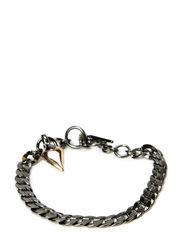 Bracelets - hematite plated