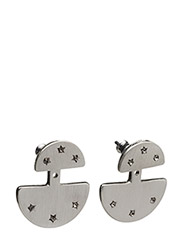 Pilgrim Desireable Earring - SILVER COLOR