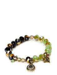 Bracelets - dark brass