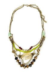 Necklaces - dark brass