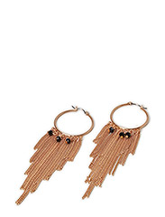 Pilgrim Earrings Brown Stillness - Brown