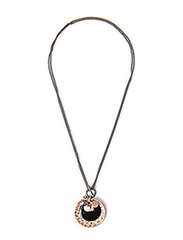 Pilgrim Necklace Black Equals - Black