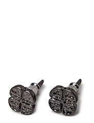 Pilgrim Earrings black Equals - black