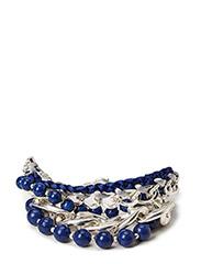 Pilgrim Bracelet Blue - Blue