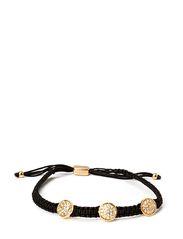PILGRIM Classic bracelet - Black