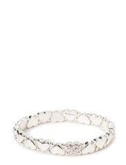 Pilgrim Bracelet Classic - hematite