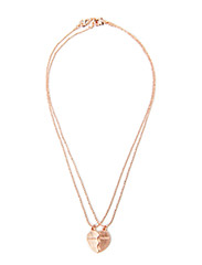 Pilgrim Necklace Rose gold Classic - Rose gold