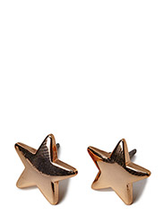 Pilgrim Earrings Rose gold Classic - Rose gold