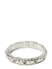 Pilgrim Bracelet White Classic - White