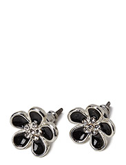 Pilgrim Earrings Black Classic - Black