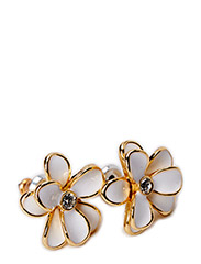 Pilgrim Earring Classic - white