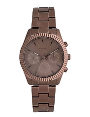 Watch - BROWN PLATED