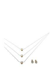 PILGRIM Gift Set - Silver/Gold