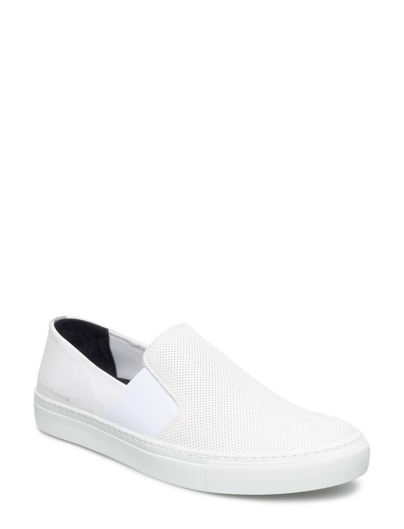 Amarillo Playboy Footwear Sneakers til Herrer i hvid