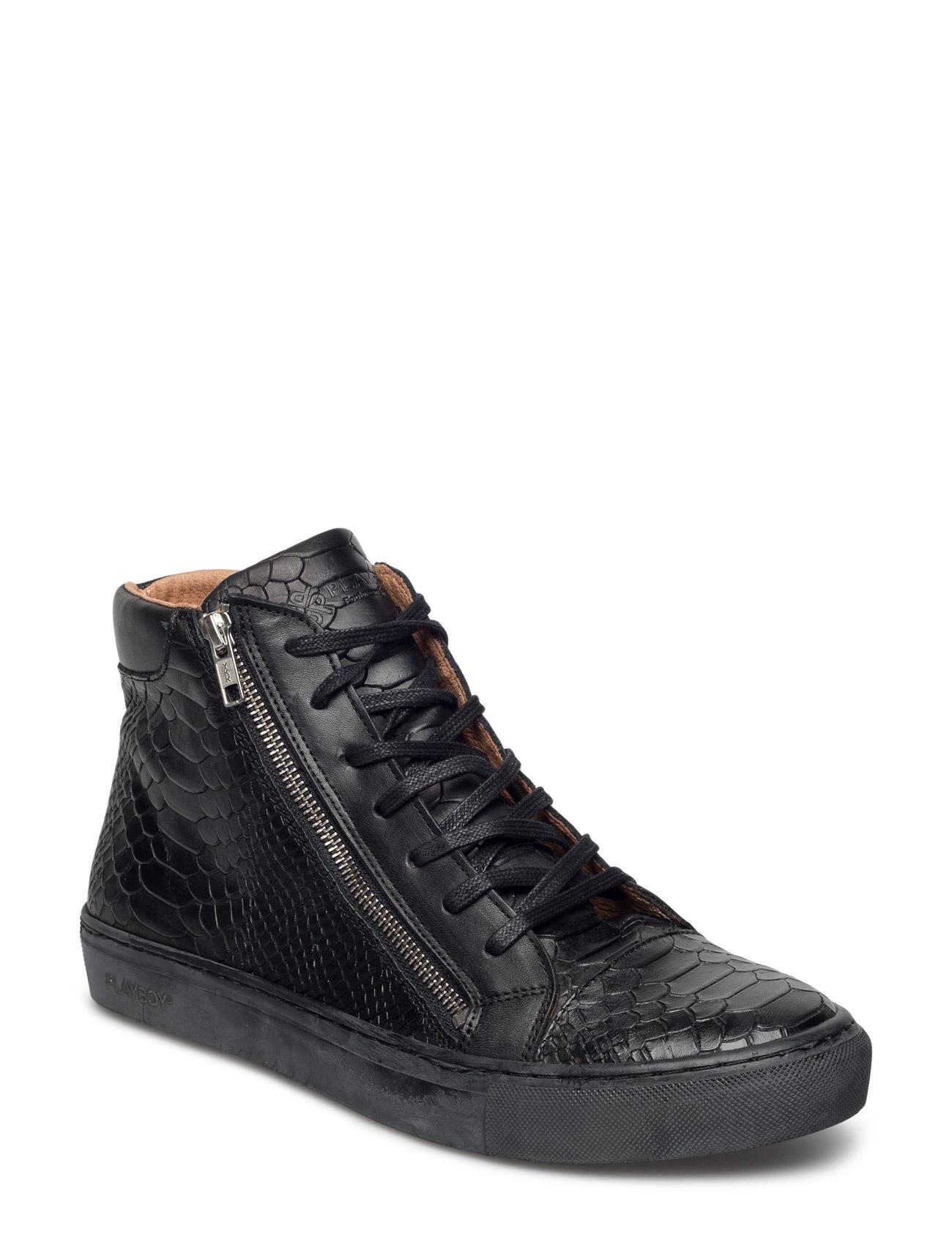 Baker Playboy Footwear Støvler til Mænd i Sort