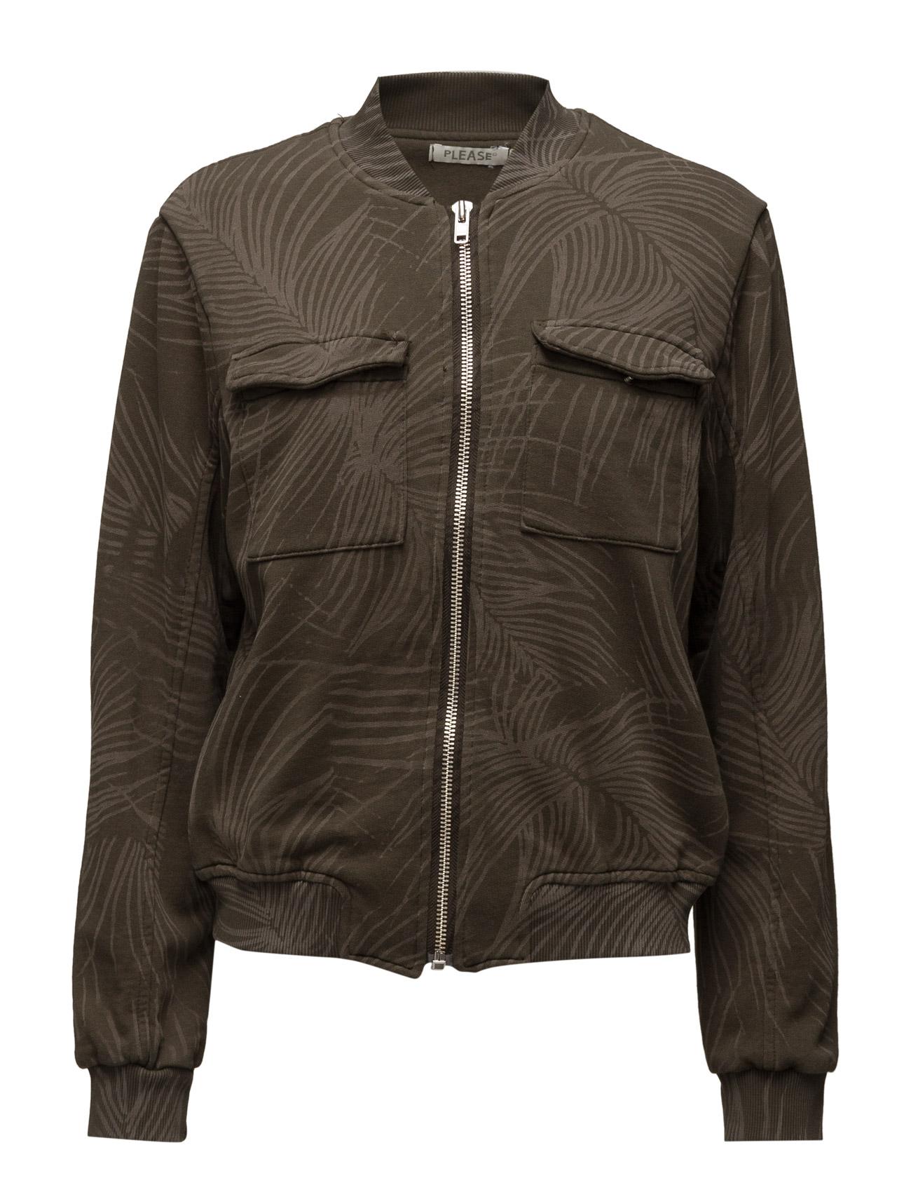 Sweat Jacket Militare Please Jeans  til Damer i