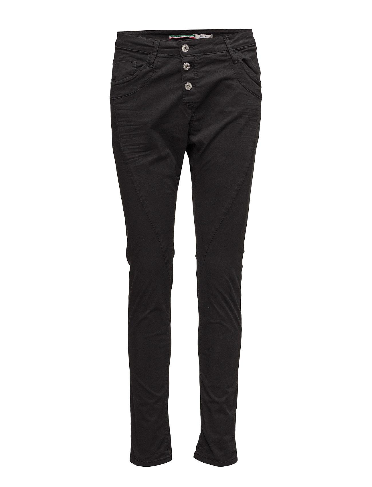 Classic Shiny Nero Please Jeans Skinny til Damer i Sort