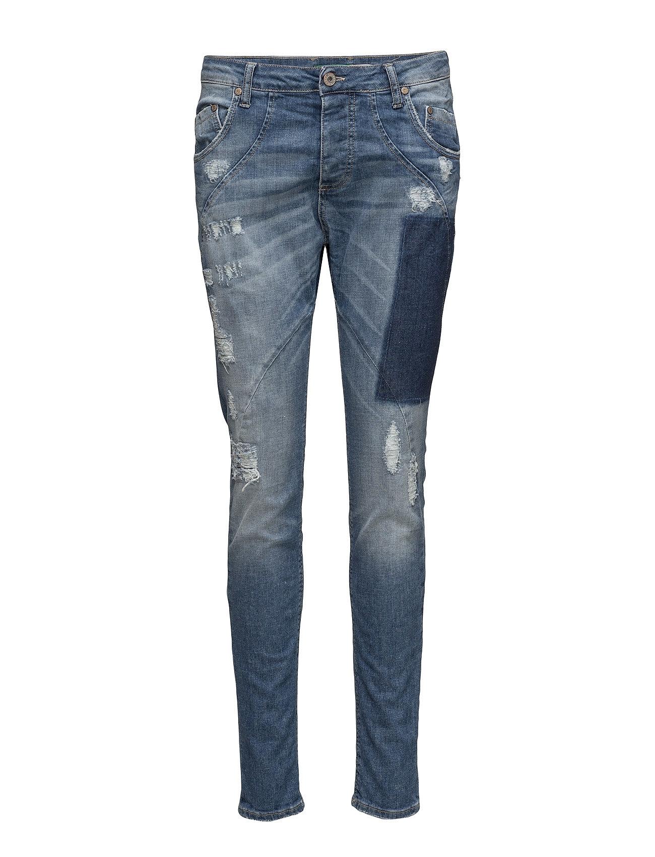 Find New Classic Patch Denim Please Jeans Skinny i Blå til Damer på Boozt.dk 462fd8b3c1d15