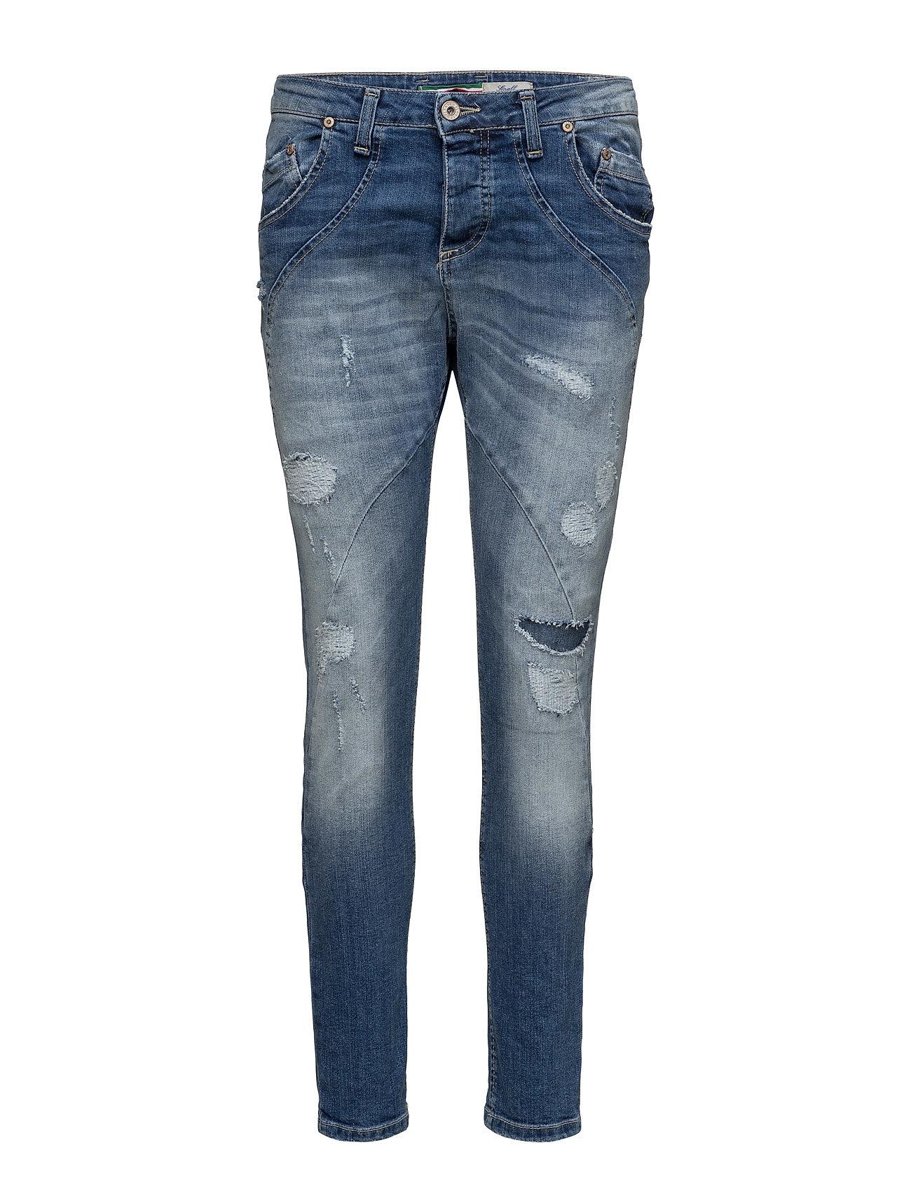 New Classic Denim Stretch Please Jeans Skinny til Damer i Blå