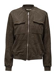 Sweat Jacket Militare - COTTON