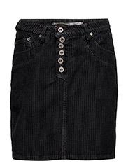 Skirt Short Cod. Nero - CORDEROY
