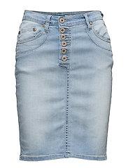 Skirt Long Light Stretch - BLUE