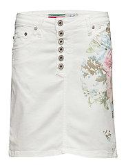 Skirt Long Floral - MULTI COLOURED