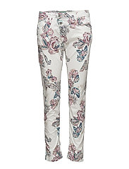 Classic Floral - MULTI COLOURED /WHITE