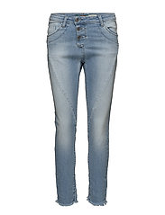 C LIGHT STR. CUT - BLUE DENIM