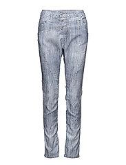 Classic Silver Stripe - MULTI COLOURED /SILVER