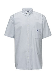 CLASSIC FIT OXFORD SHIRT - BSR BLUE/WHITE